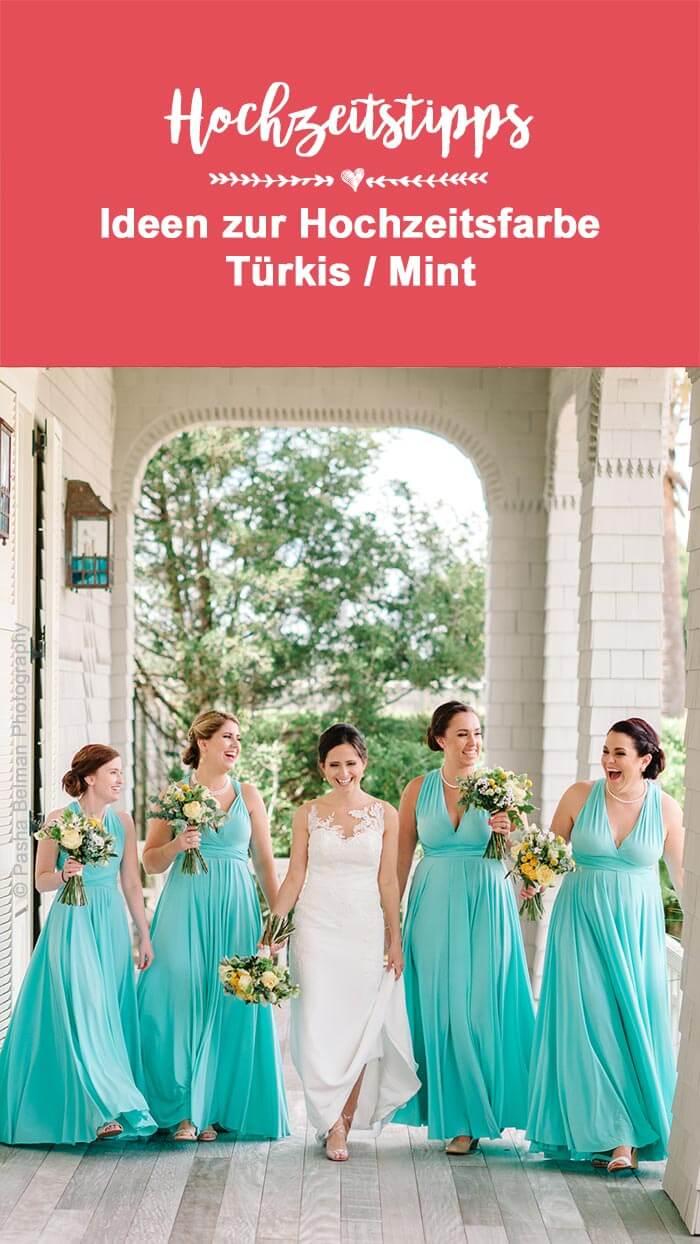 Mint Türkis Hochzeit