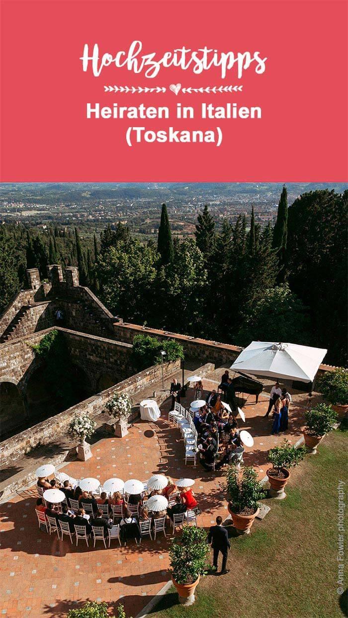 In Italien heiraten