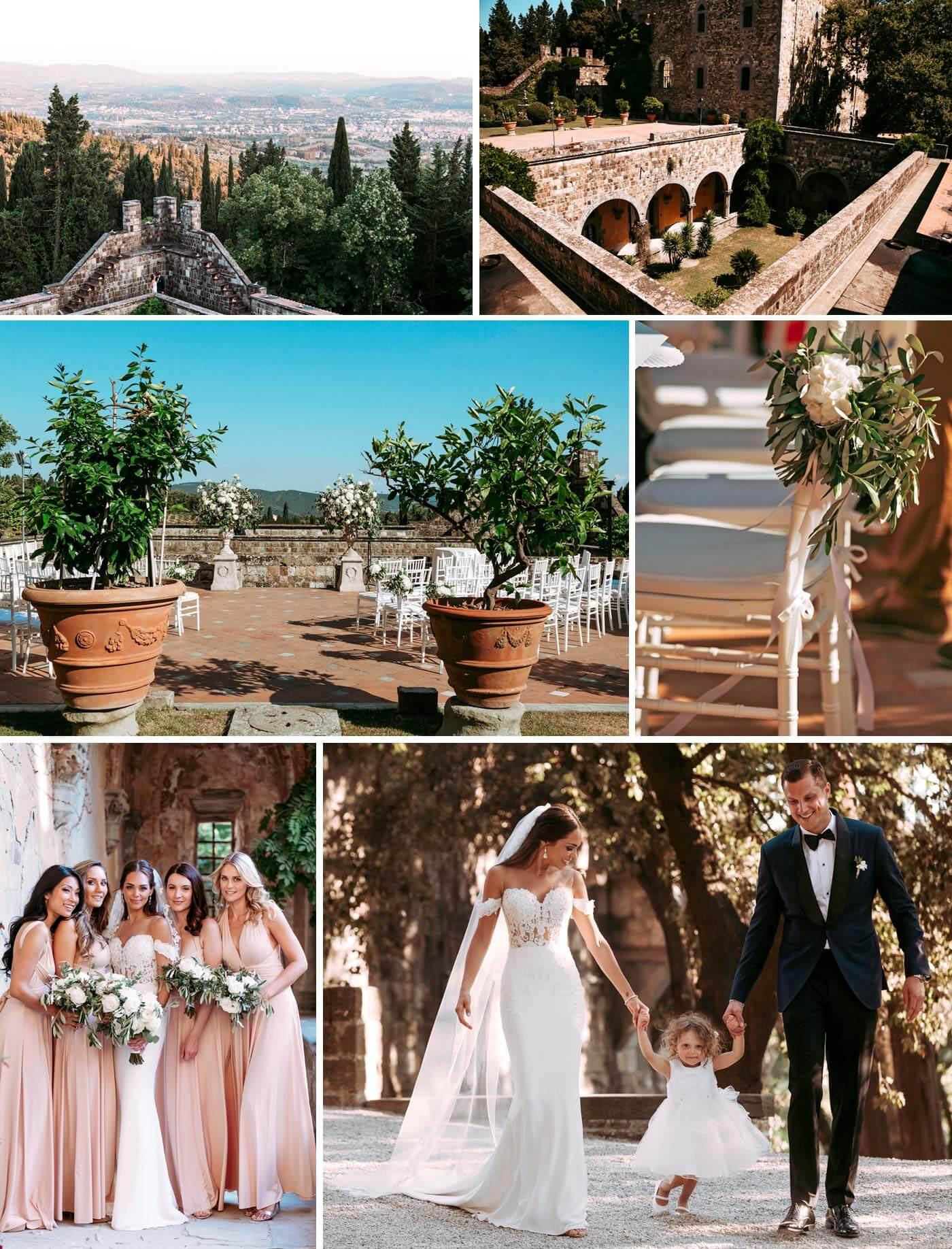 Toskana-Hochzeit