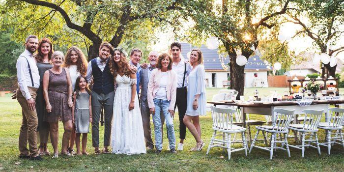 Hochzeit klein feiern