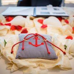 Anker Hochzeit Ringkissen