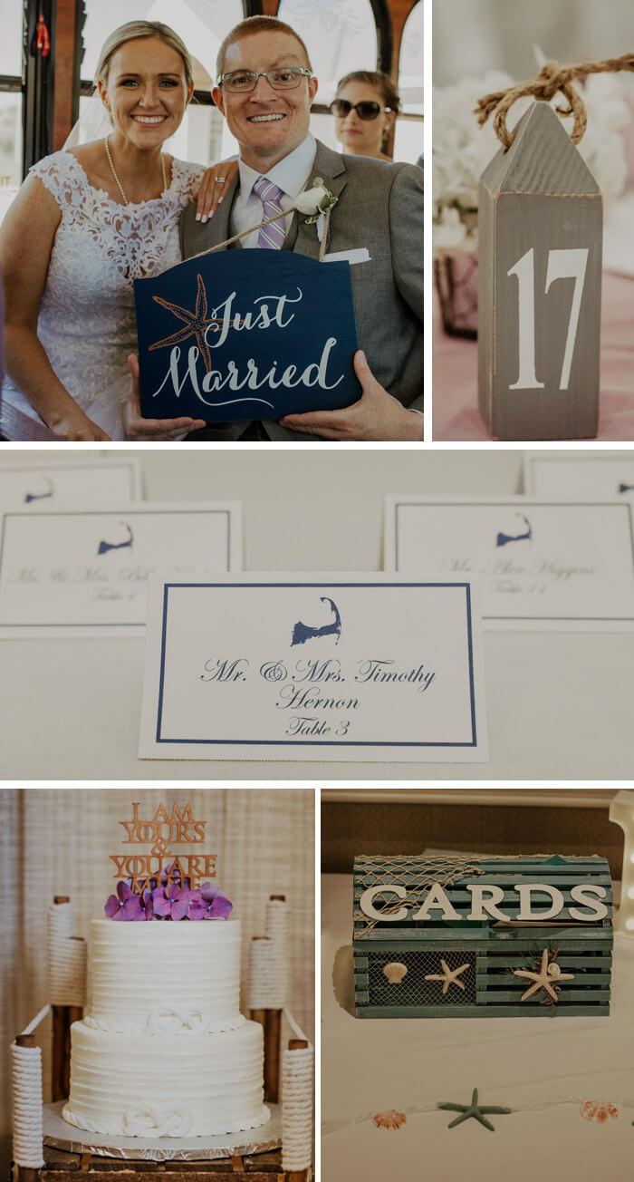Maritime Hochzeitsdekoration