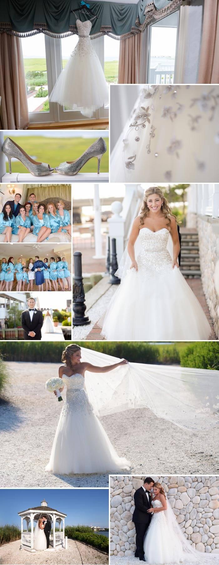 Maritimes Hochzeitsoutfit