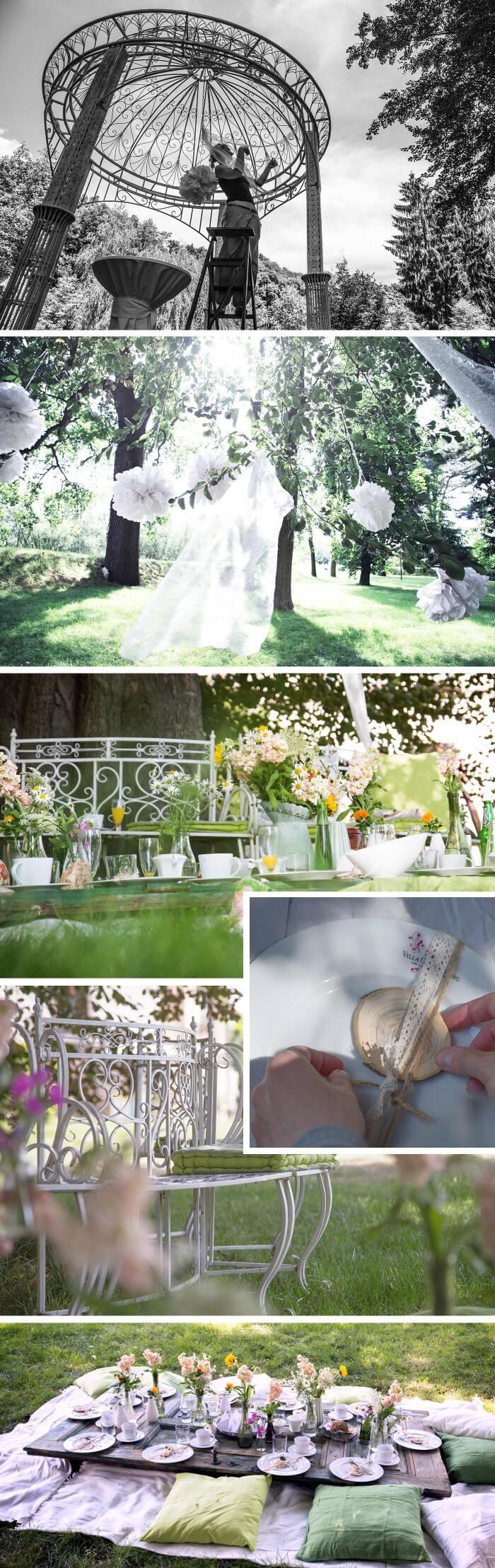 Picknick Hochzeit Deko