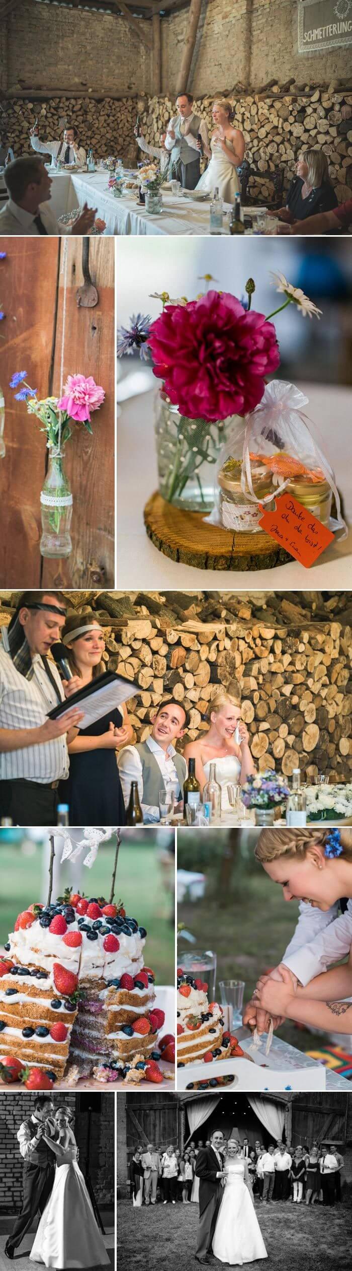 Scheune Hochzeit