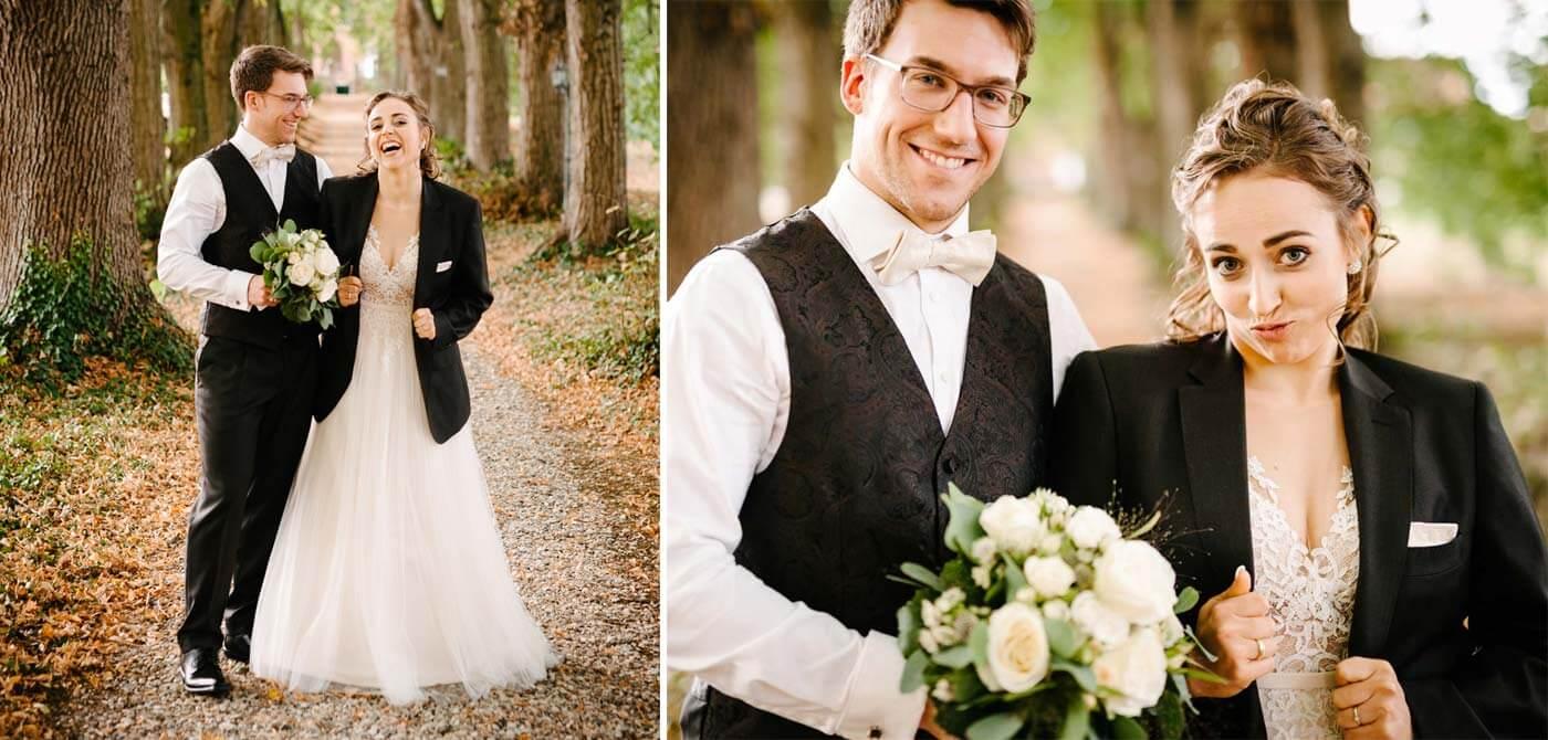 Freche Hochzeitsbilder