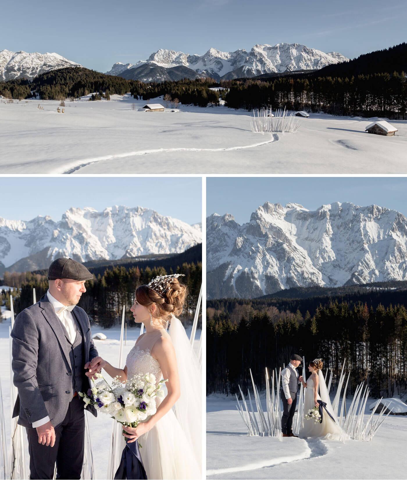 Drei Haselnüsse für Aschenbrödel Hochzeit