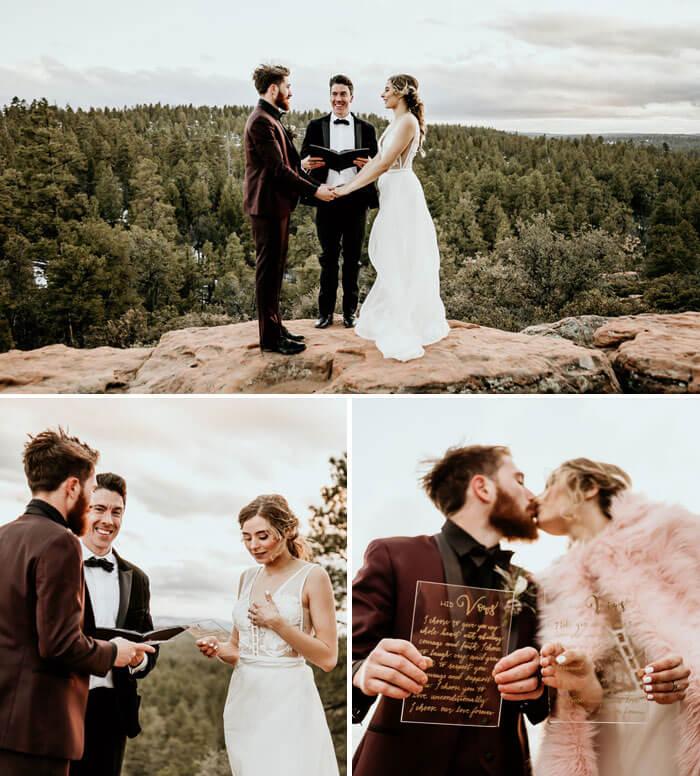 Hochzeit auf dem Berg