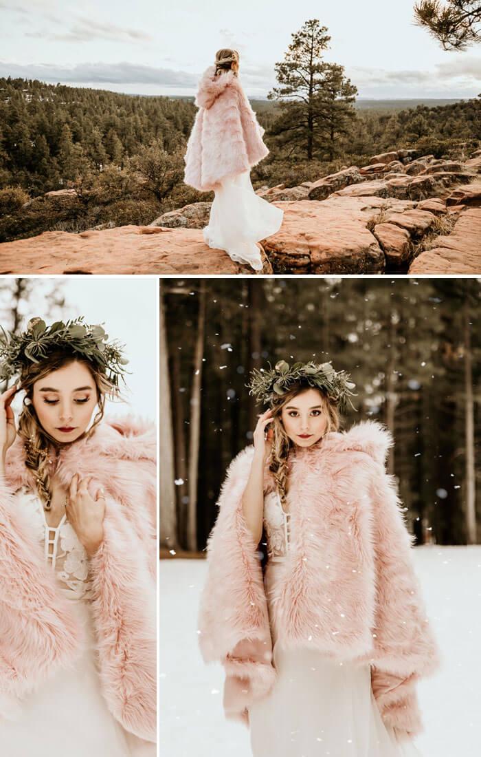 Wintermantel Hochzeit