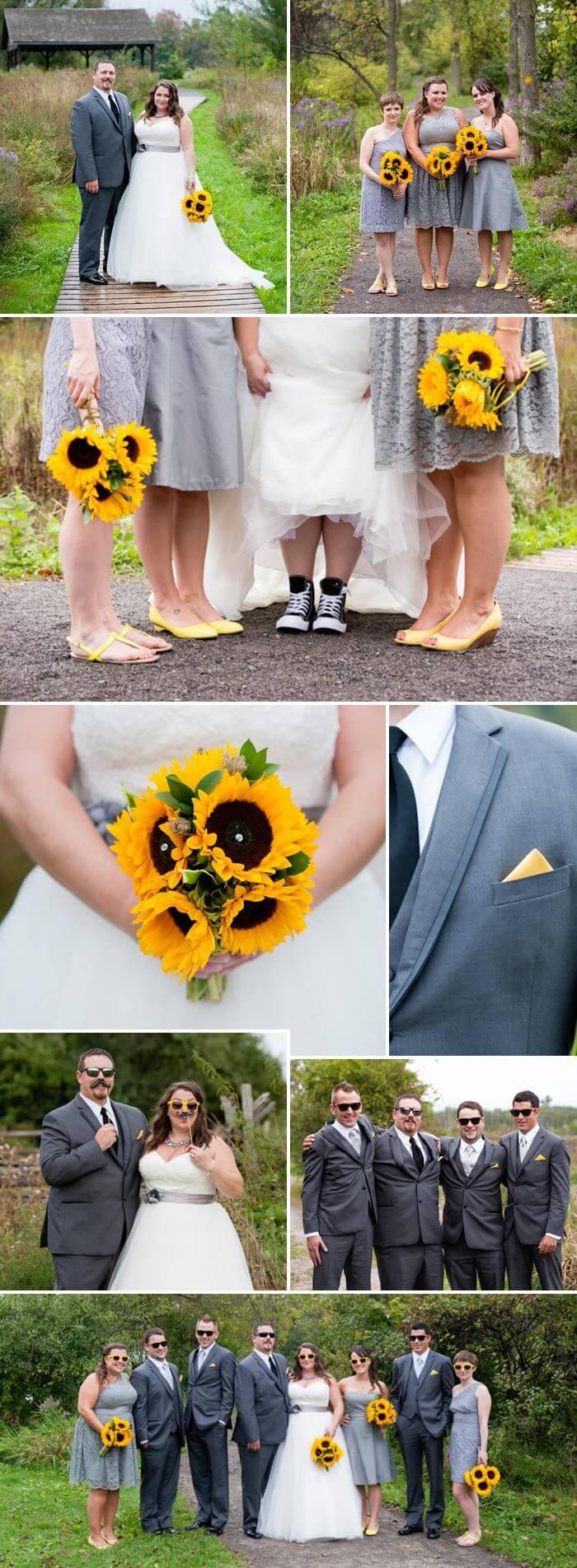 Hochzeit Sonnenblumen