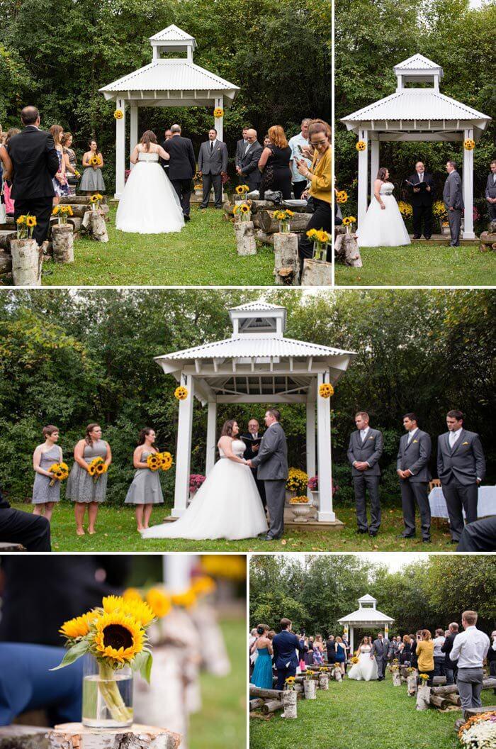 Hochzeitsfarbe Gelb