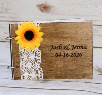 Sonnenblumen Gästebuch