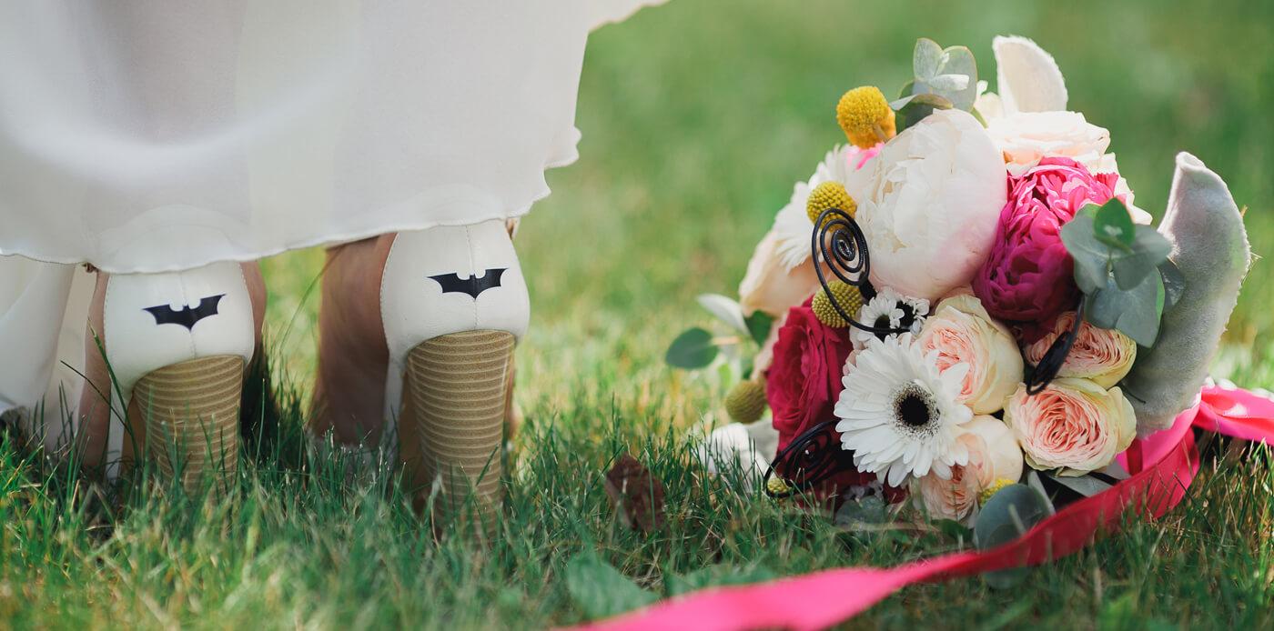 Superhelden Hochzeit: Die coolsten Accessoires für eure