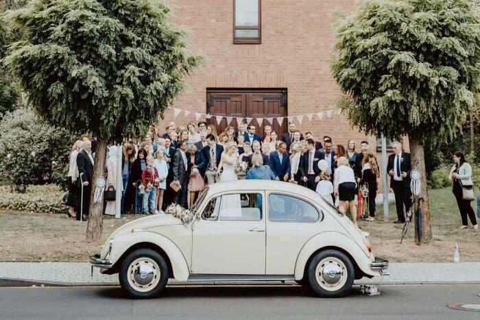Käfer Hochzeitsauto