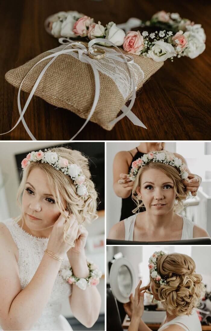 Kopfschmuck Braut vintage