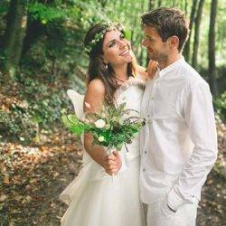 Feen Brautkleid