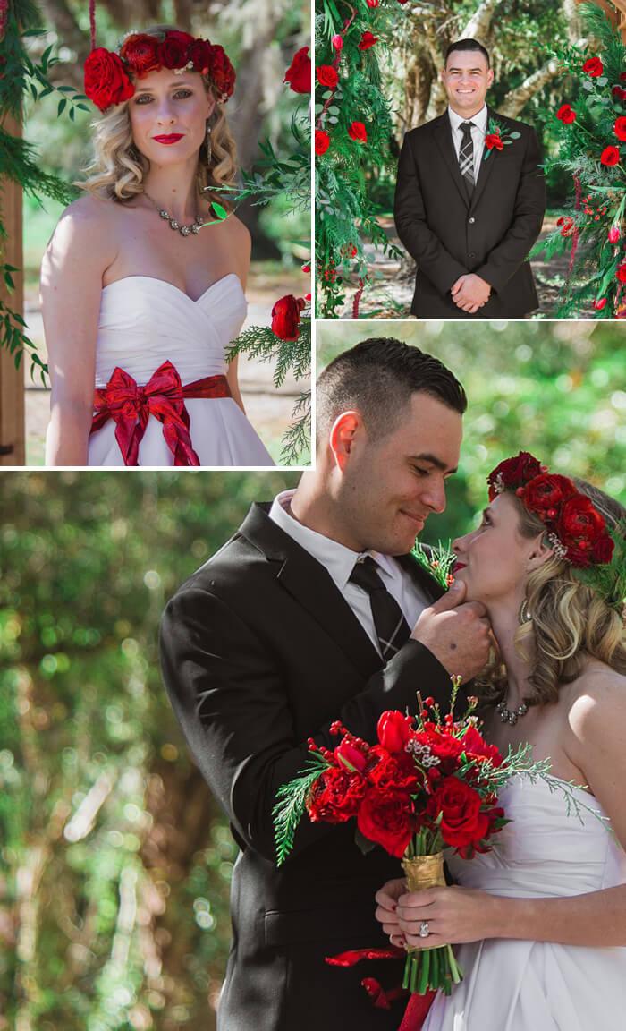 Hochzeit rote Rosen