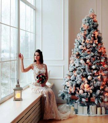 Hochzeitsdeko Weihnachten