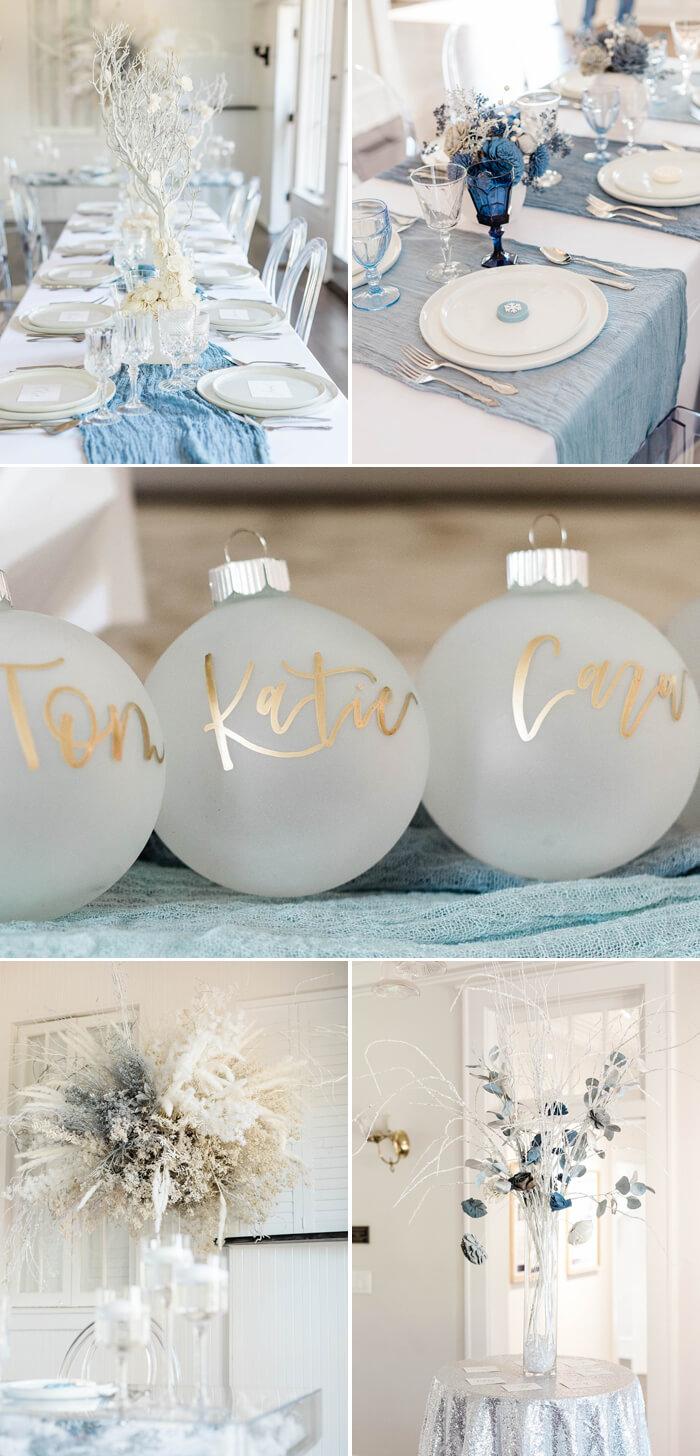 Tischdeko Hochzeit Weihnachten