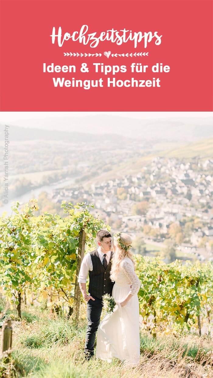Hochzeit auf Weingut