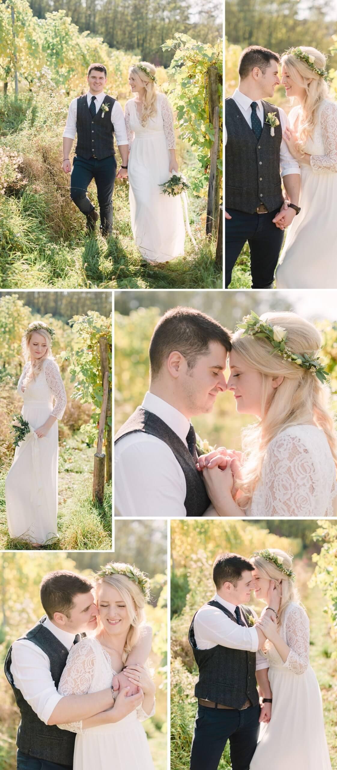 Hochzeit im Weingut