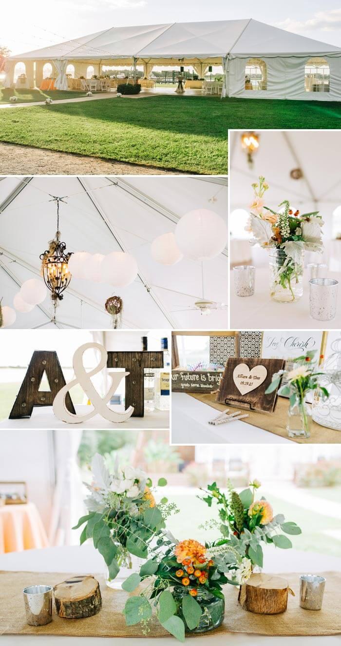 Hochzeit im Landhausstil