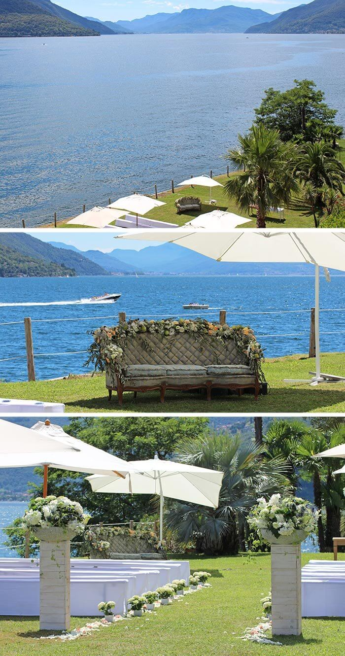 Hochzeitslocation am See Schweiz