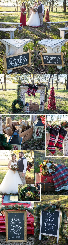 Heiraten an Weihnachten - Die Deko zur Zeremonie