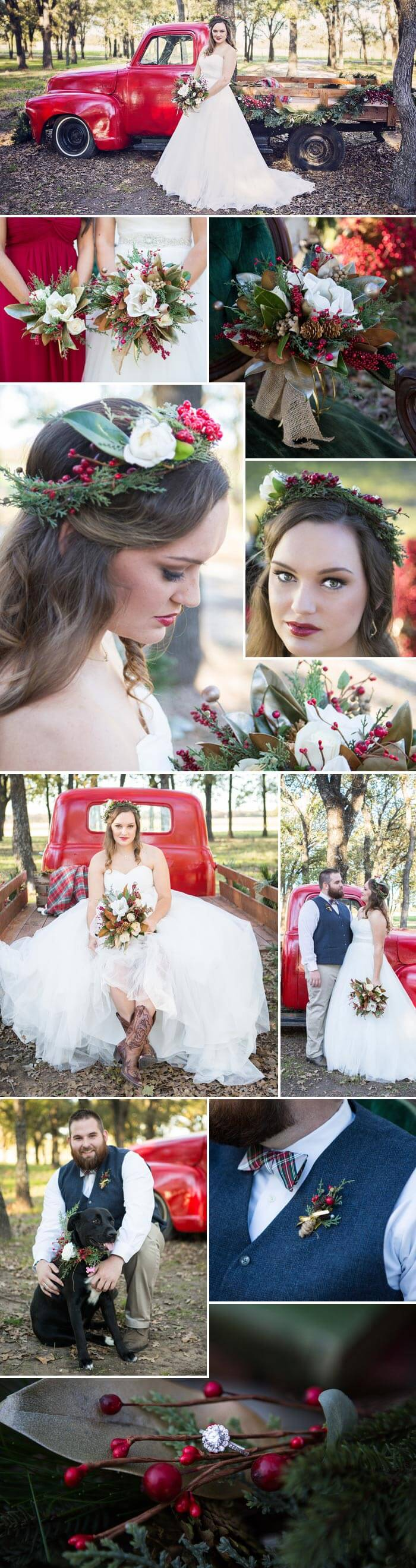Hochzeit an Weihnachten - Ideen für das Styling