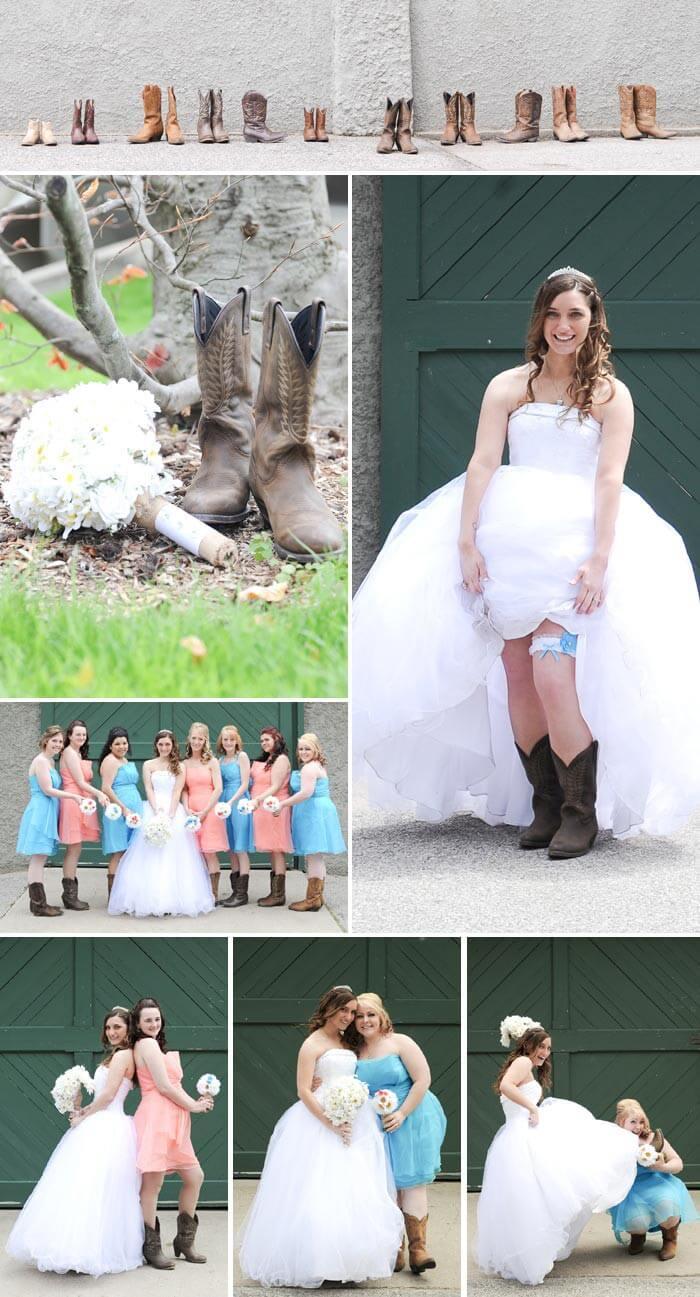 Brautstiefel