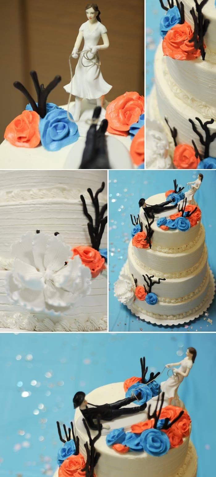 Hochzeitstorte Western