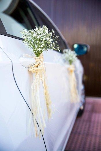 Auto schmücken Hochzeit