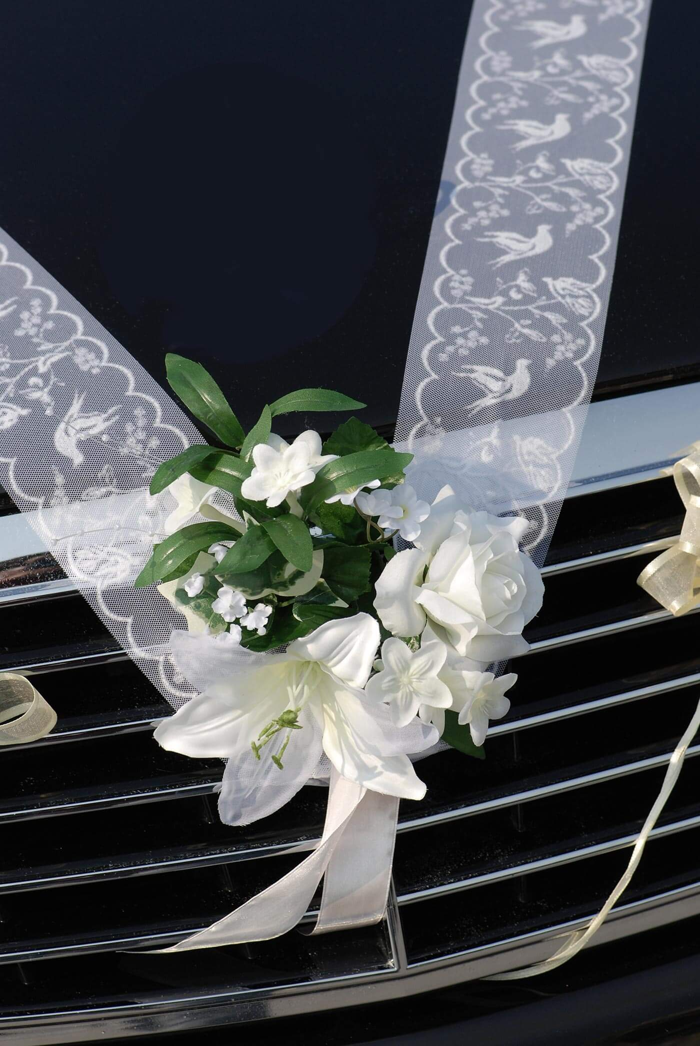 Autodeko zur Hochzeit - günstig & schön | Bildergalerie
