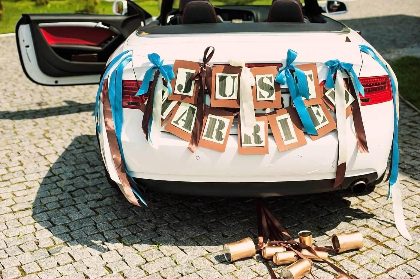 Autodekoration hochzeit selber machen bildergalerie mit ideen