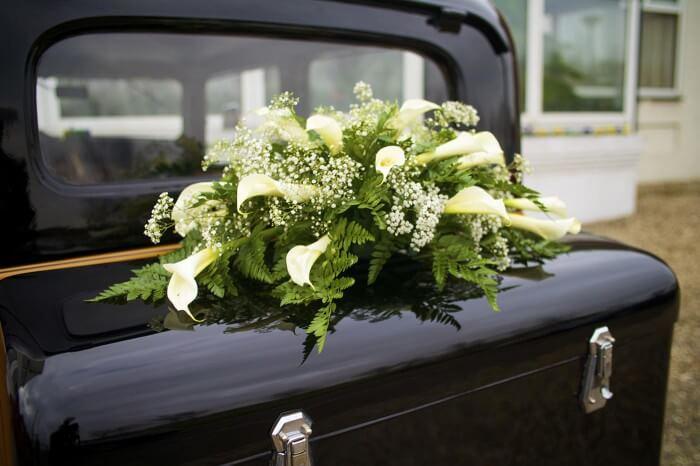 Autoschmuck Zur Hochzeit Calla Grosse Bildergalerie