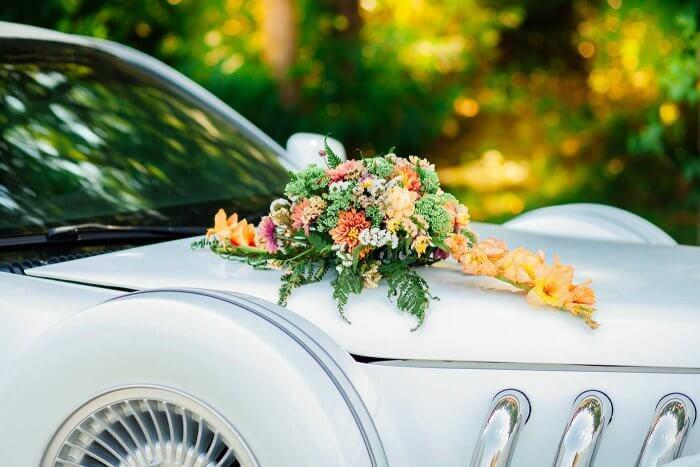 Bilder Hochzeitsauto