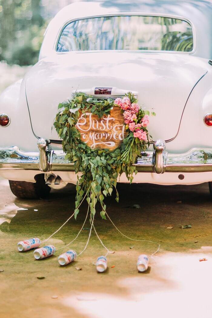 Autoschmuck Zur Hochzeit Tipps Ideen Und Beispiele