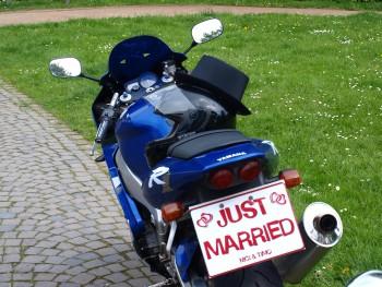 Motorrad Hochzeit