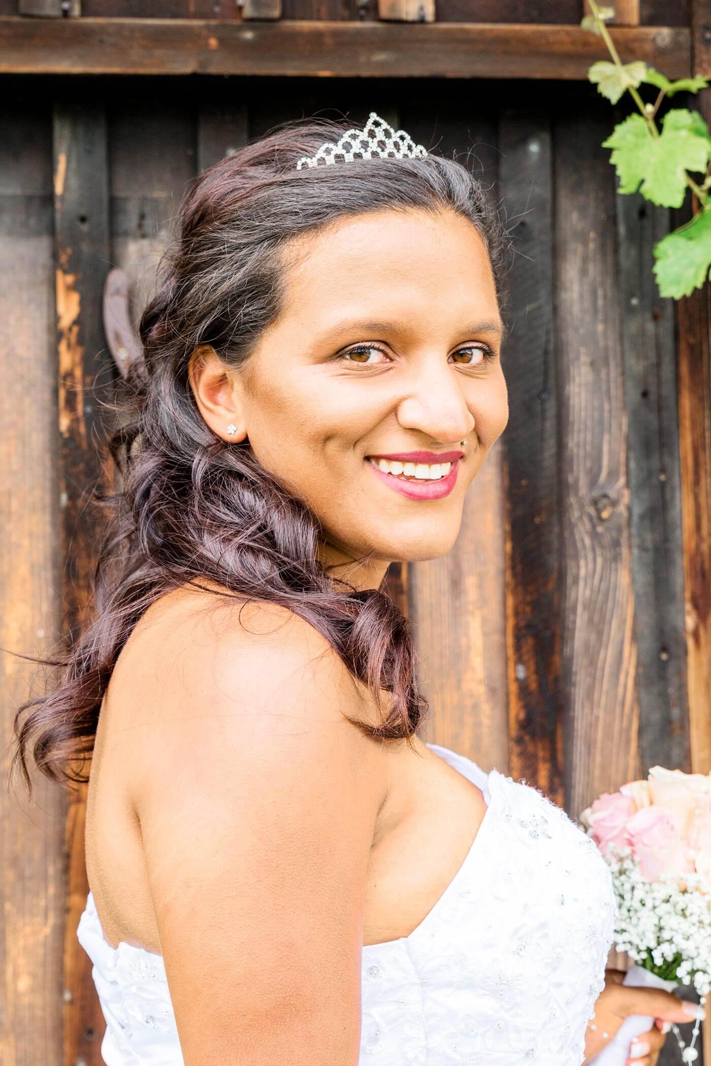 Braut Diadem