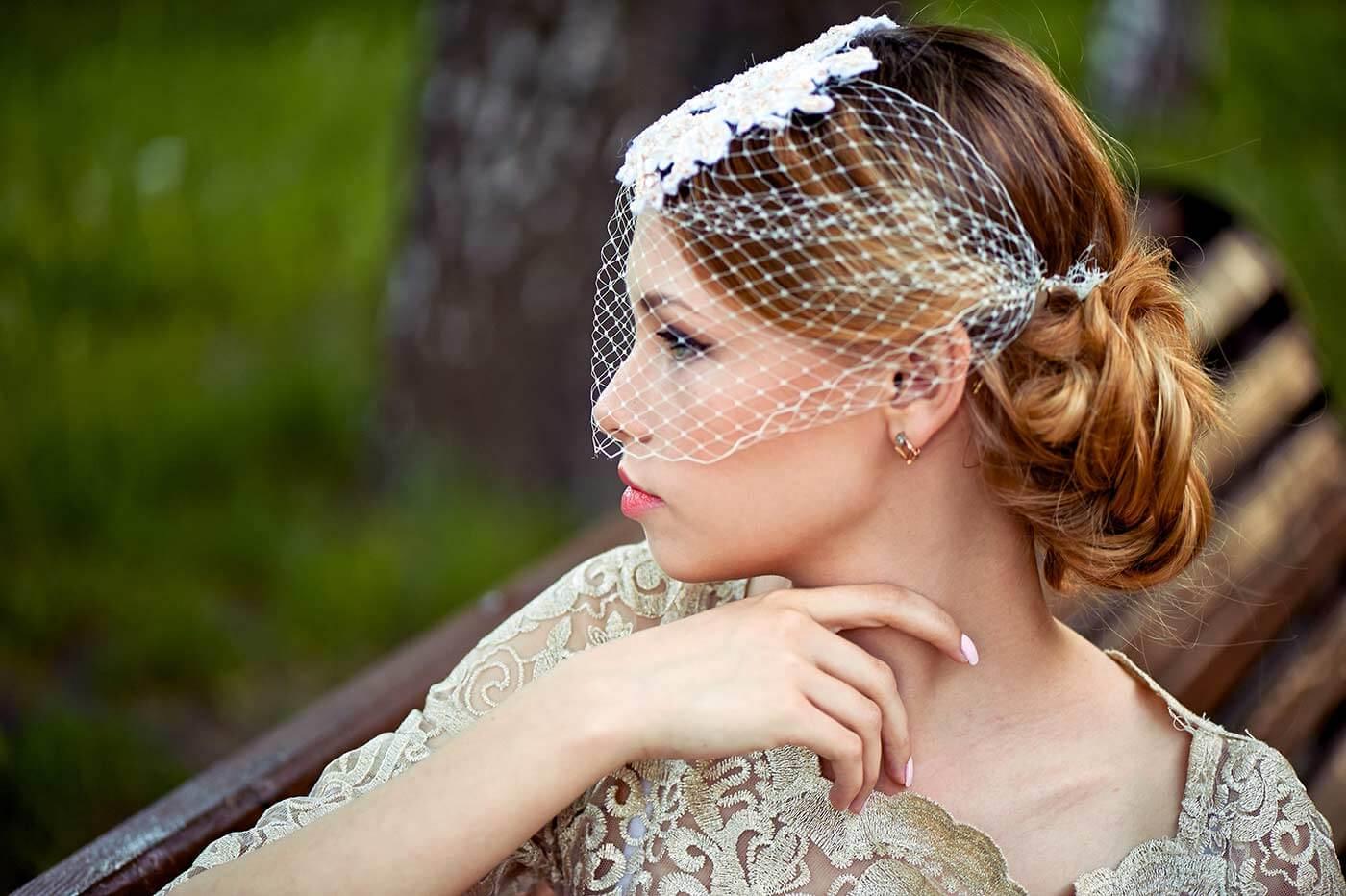 Braut Fascinator