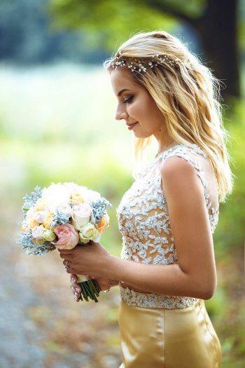 Brautfrisur Standesamt