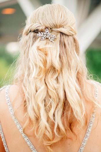 Brautfrisur offenes Haar