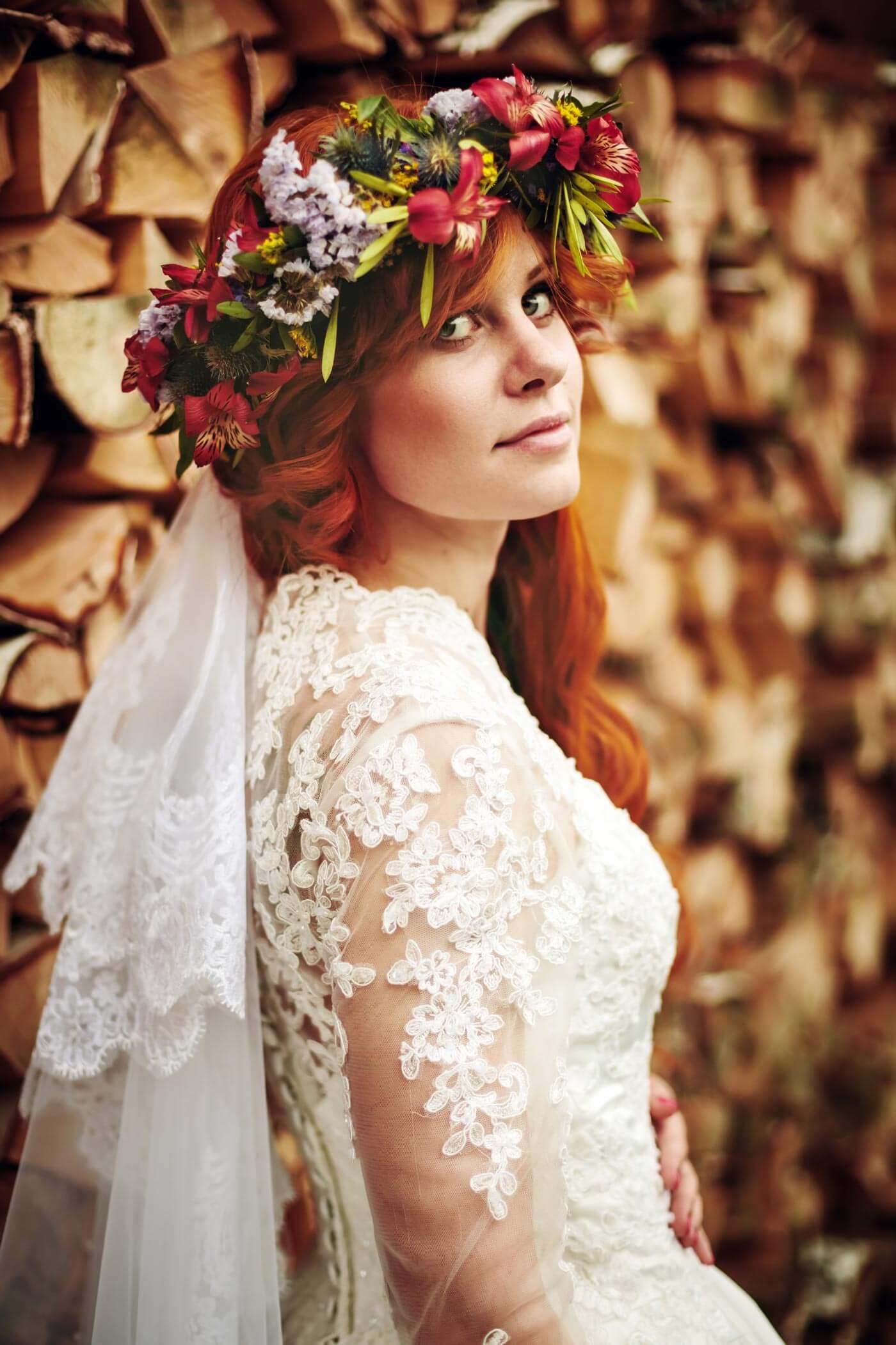 Brautfrisur selber machen