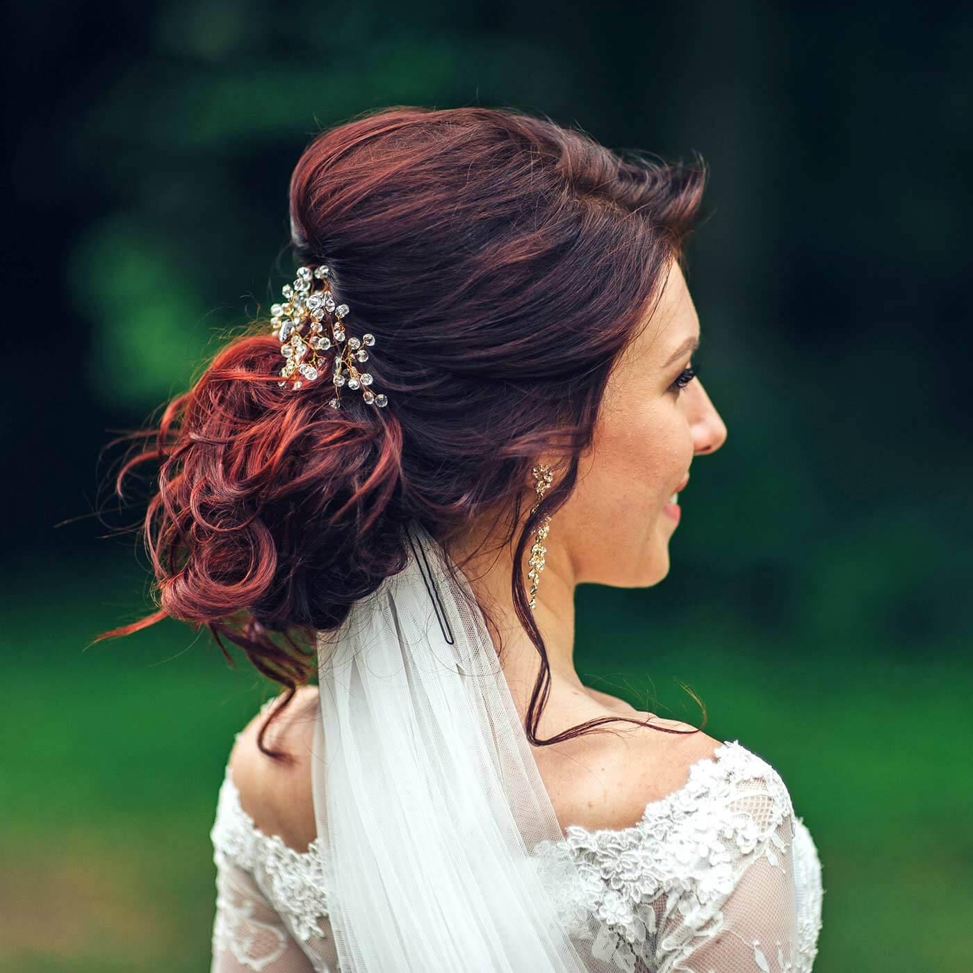 Haarkamm Hochzeit