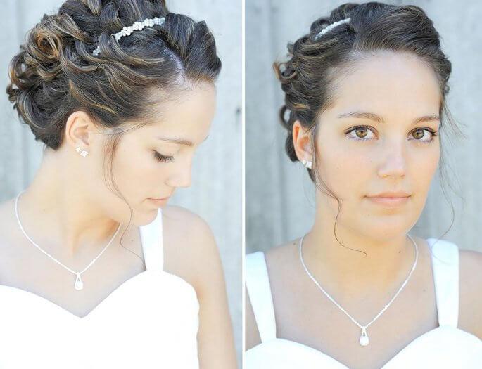 Haarreif Hochzeit