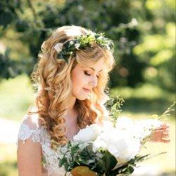 Hochzeitsfrisur blond