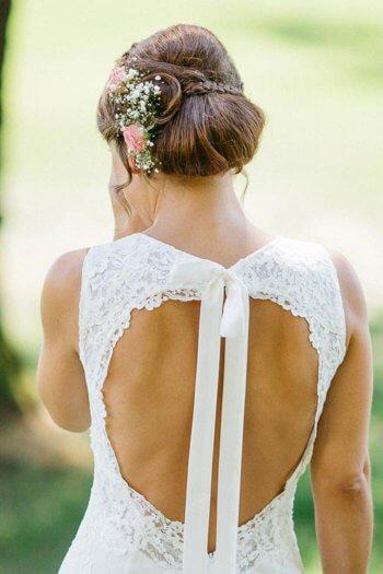 Hochzeitsfrisuren geflochten