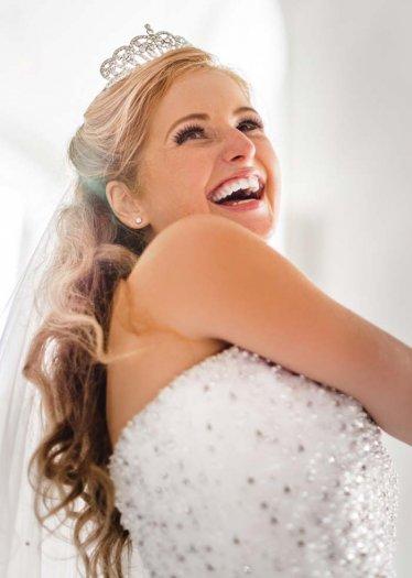 Tiara für eine Hochzeit