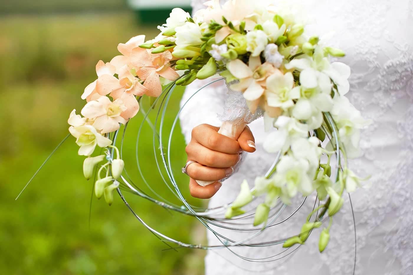 Außergewöhnlicher Brautstrauß