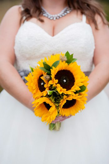 Brautstrauss Sonnenblumen I Ideen Inspiration I Bildergalerie
